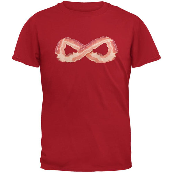 Infinite Bacon Red Adult T-Shirt