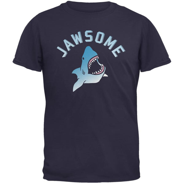 Jawsome Navy Adult T-Shirt