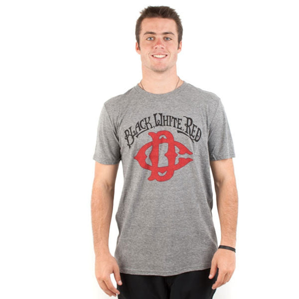 DC Shoes - Black Script Adult T-Shirt