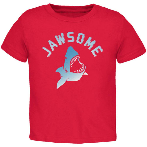 Jawsome Red Toddler T-Shirt
