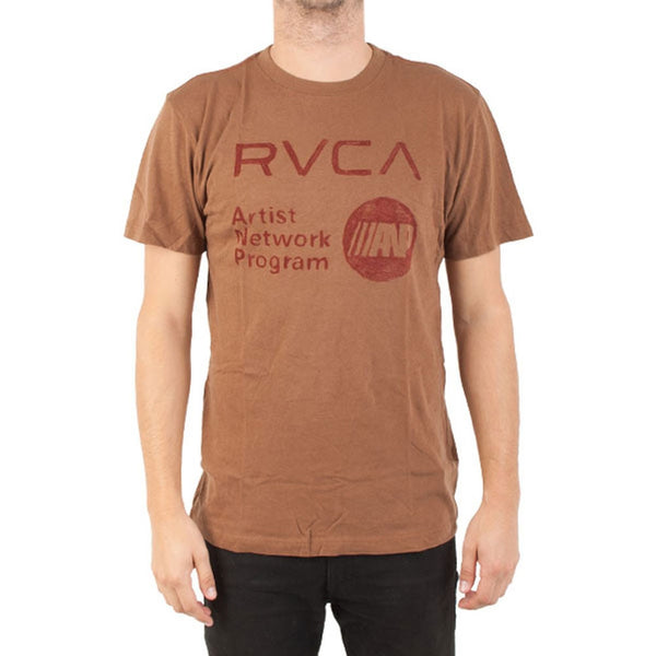 RVCA - Hand Drawn ANP Suede T-Shirt