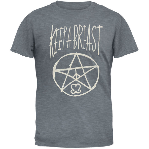 Keep A Breast - Kabagram Adult T-Shirt
