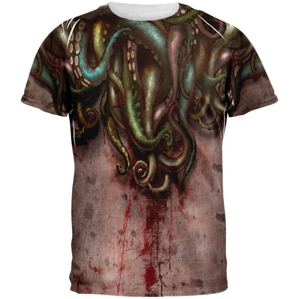 Cthulhu Greater God Tentacles All Over Adult T-Shirt