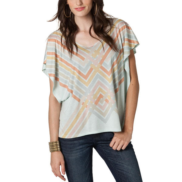 O'Neill - Geometric Grey Women's Dolman
