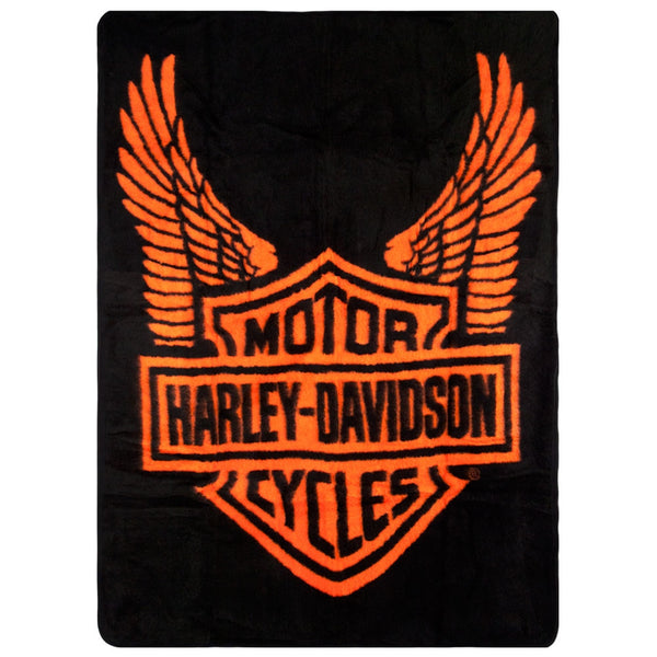 Harley Davidson OldGlory New Harley Davidson Blankets And Throws