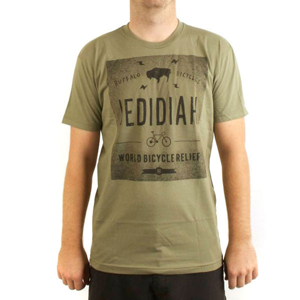 Jedidiah - Buff Adult T-Shirt