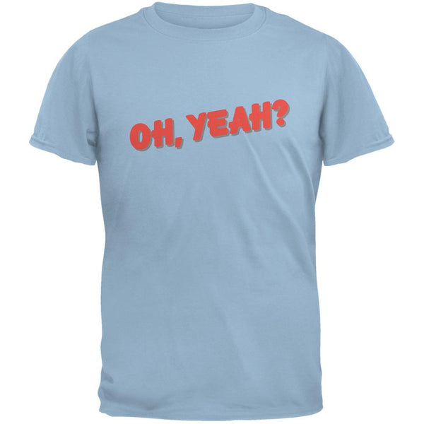 Oh Yeah Inspired By Jeff Beck Light Blue Adult T-Shirt