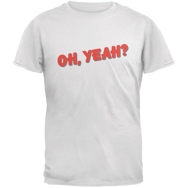 Oh Yeah Inspired By Jeff Beck White Adult T-Shirt