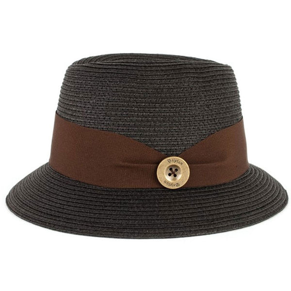 Brixton - Parlor Black Women's Straw Hat