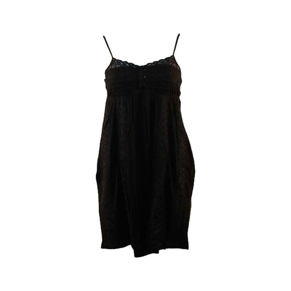 Billabong - Lace Black Juniors Tube Top Dress