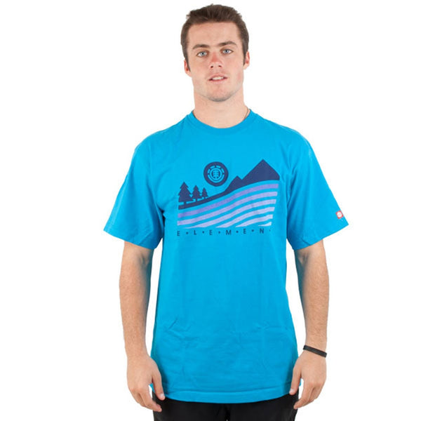 Element - Swirl Cyan T-Shirt