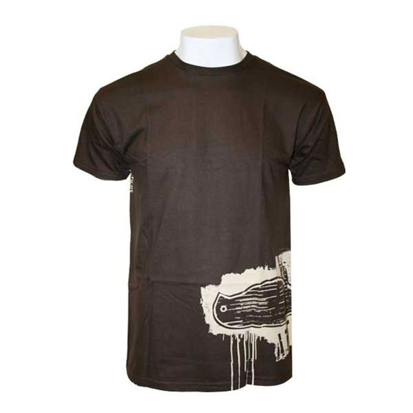 Atticus - Panel Brown Adult T-Shirt