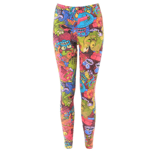 Iron Fist - Monster In My Pocket Women's Leggings