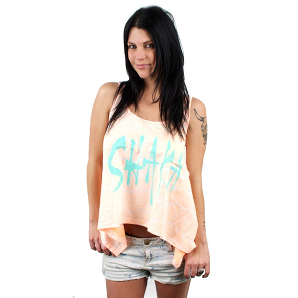 Billabong - Wide Open Just Peachy Juniors Tank Top
