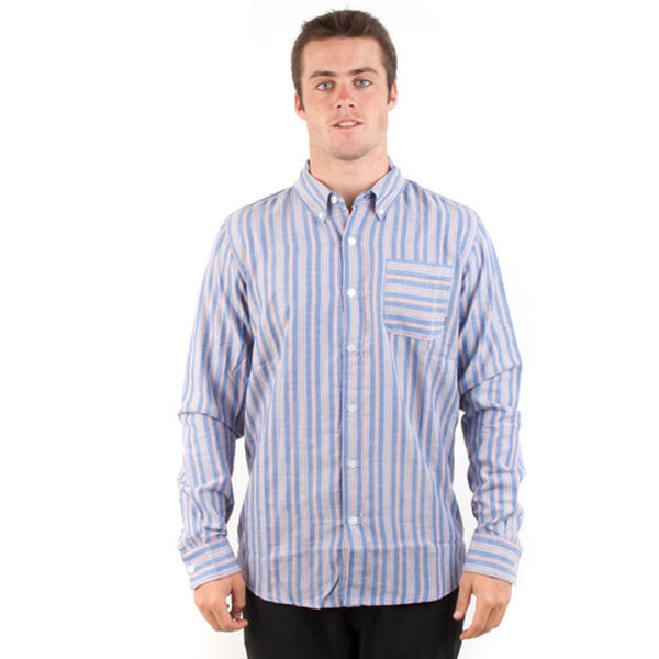 Element - Chesapeake COB Long Sleeve Button Down T-Shirt