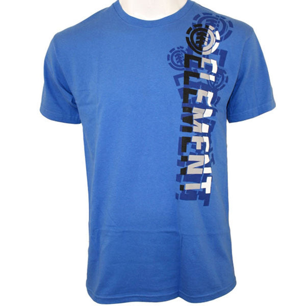 Element - Broken Royal Blue Adult T-Shirt