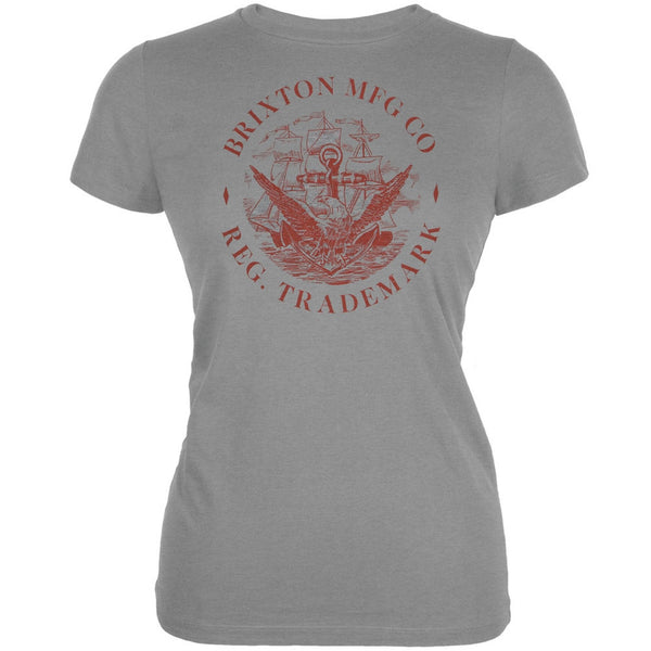 Brixton - Honor Grey Juniors T-Shirt