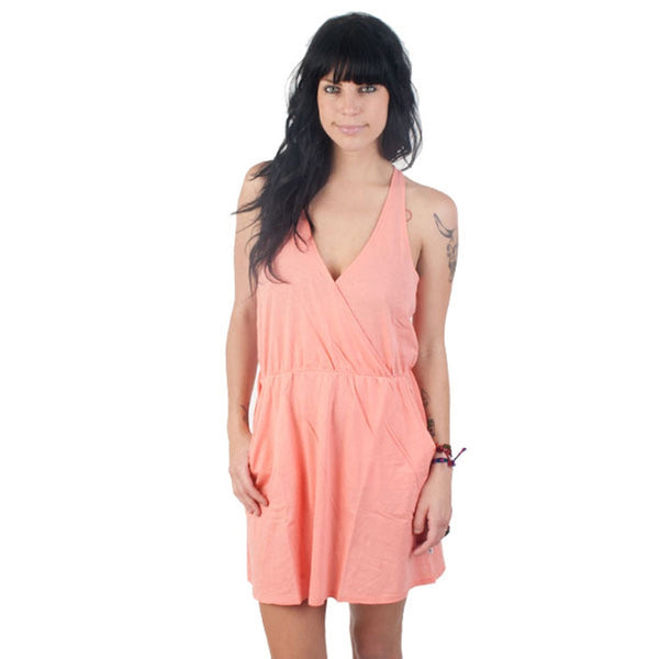 RVCA - Breakdown Melon Juniors Dress
