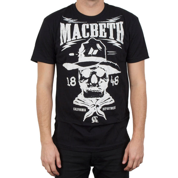 Macbeth - Gold Rush Black T-Shirt