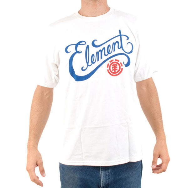 Element - Old Town White T-Shirt
