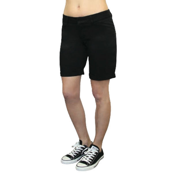 "Dickies Girl - 9"" College Short Womens High Rise Shorts"