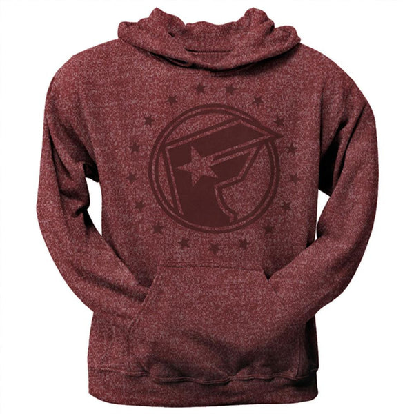 Famous Stars & Straps - Action Maroon Adult Pullover Hoodie