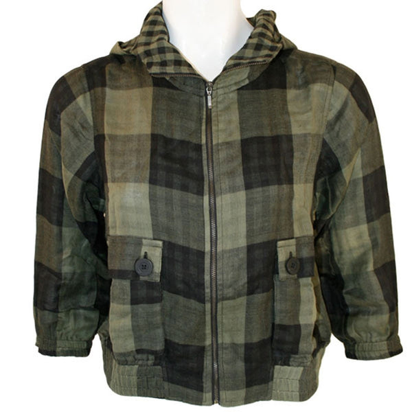 Rip Curl - Piper Plaid Juniors Crop Jacket