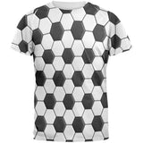 Soccer Ball All Over Adult T-Shirt