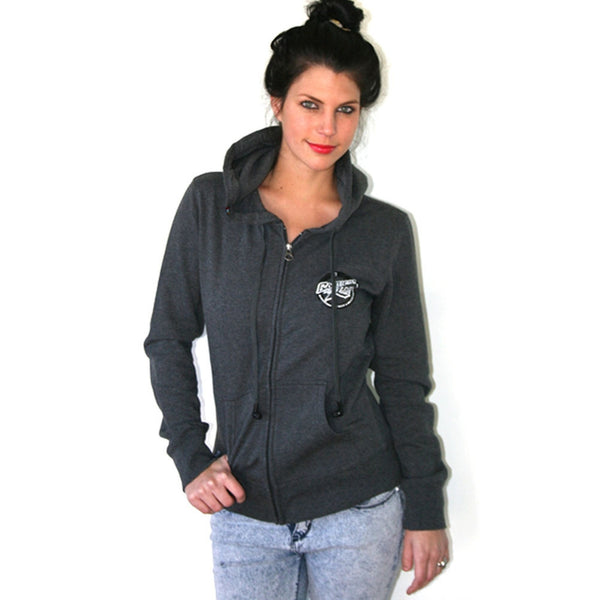Rusty - Spectacle Charcoal Juniors Zip Hoodie