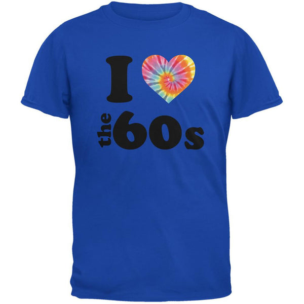 I Heart The 60s Royal Adult T-Shirt