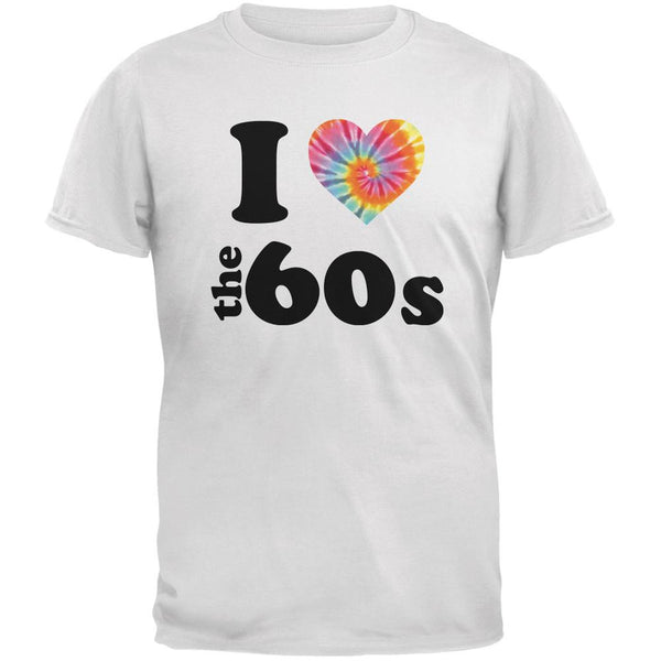 I Heart The 60s White Adult T-Shirt