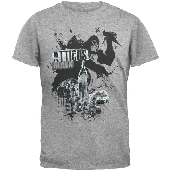 Atticus - Kong Over City Heather Grey T-Shirt