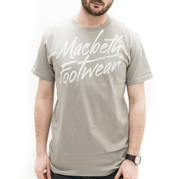 Macbeth - Scripts Grey T-Shirt