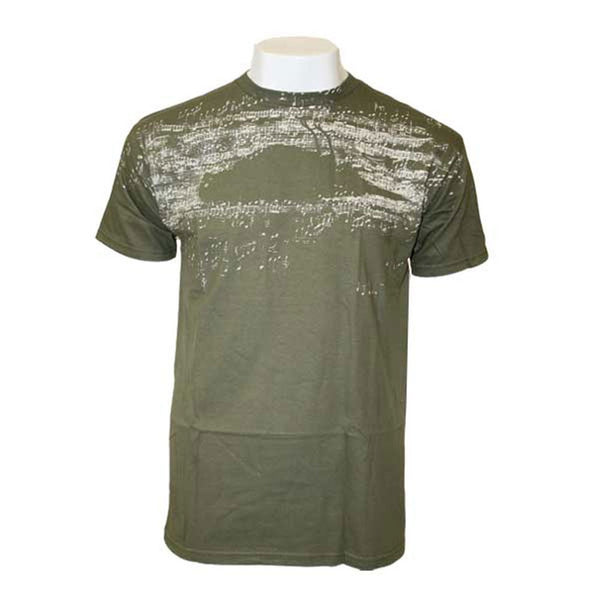 Atticus - Sheet Music Olive T-Shirt