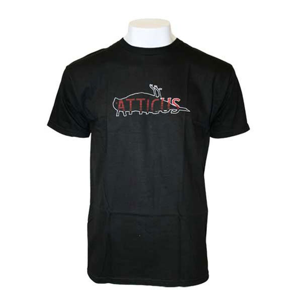 Atticus - Firm Black T-Shirt