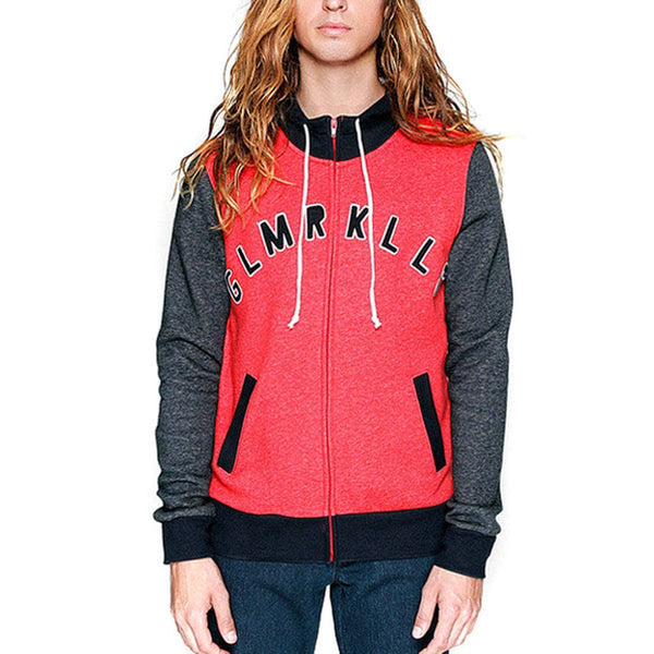 Glamour Kills - Guys Junior Varsity Red Juniors Zip Jacket