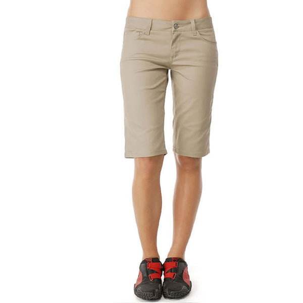 Dickies Girl - Classic 5 Pocket Tomboy Khaki Shorts