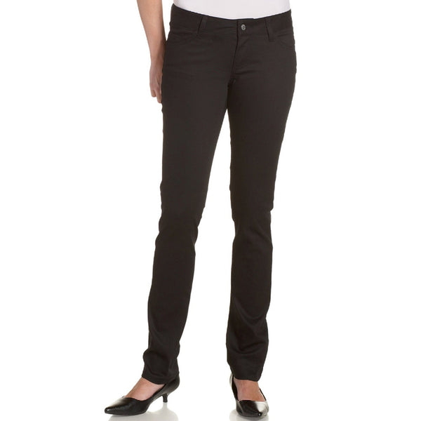 Dickies Girl - 164 Classic Skinny Mid Rise Black Jeans