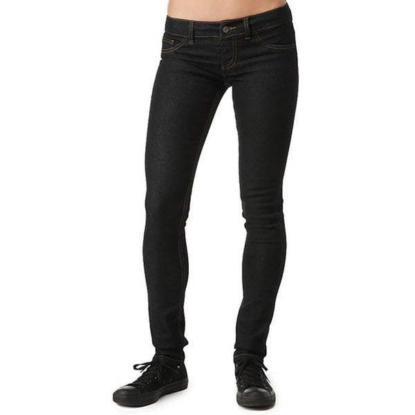 Dickies Girl - 164 Classic Skinny Low Rise Black Jeans