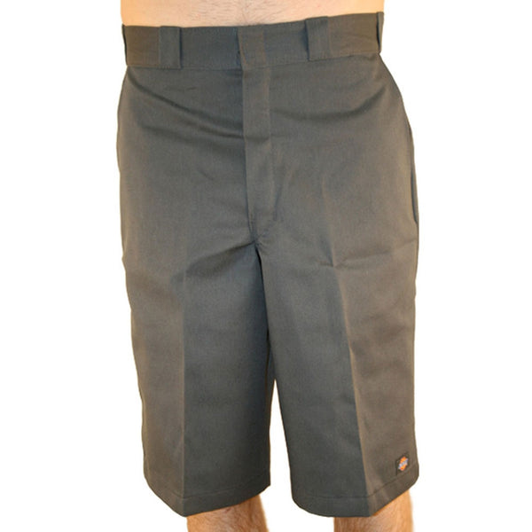 "Dickies - 13"" Multi Pocket Charcoal Loose Fit Work Shorts"
