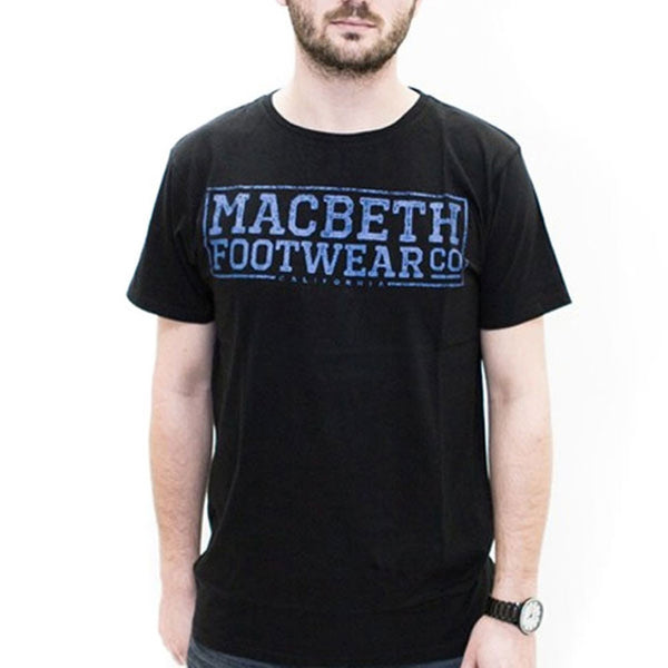 Macbeth - Embossed Black T-Shirt