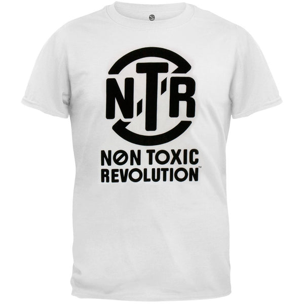 Keep A Breast - Non Toxic Revolution White T-Shirt