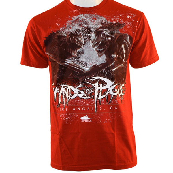 Atticus Black - Winds of Plague Collab Scarlet Soft T-Shirt