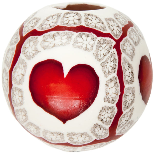 Heartglo Candle 4""