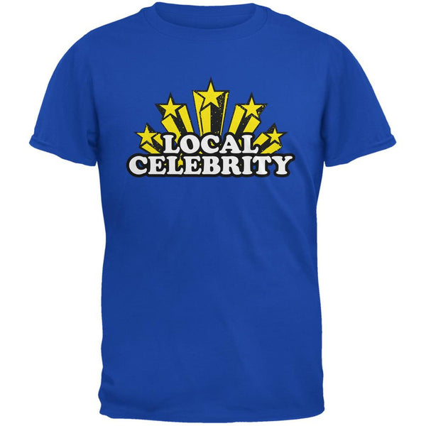 Local Celebrity Royal Adult T-Shirt