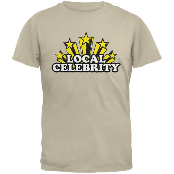 Local Celebrity Sand Adult T-Shirt