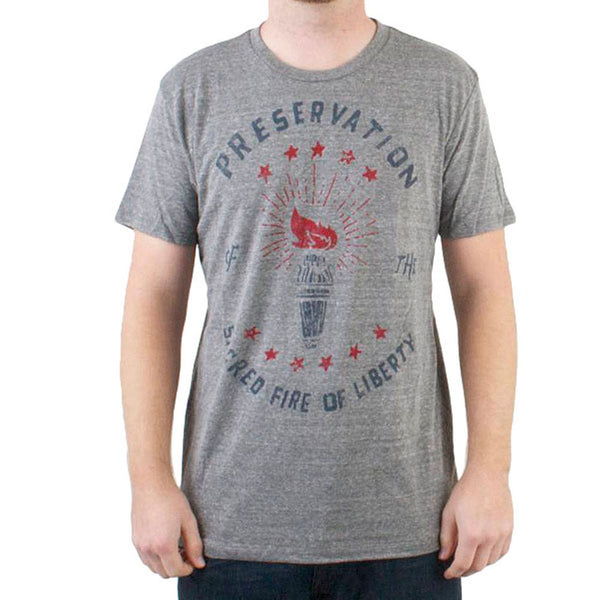 CXXVI Clothing - Preservation Grey Triblend T-Shirt