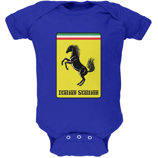 Italian Stallion Royal Soft Baby One Piece
