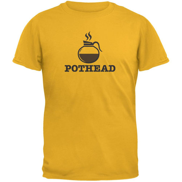 Pothead Gold Adult T-Shirt