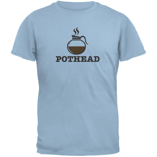 Pothead Light Blue Adult T-Shirt